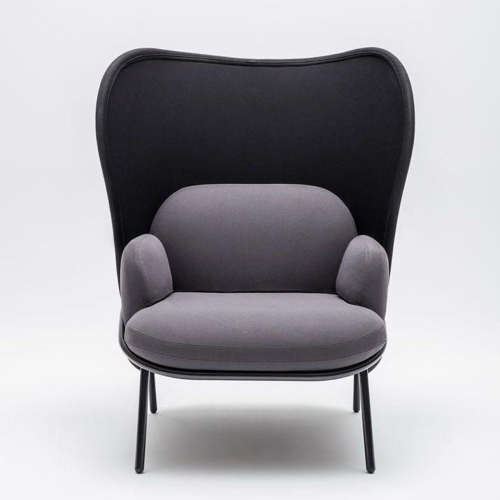 Mesh armchair Fabric: Atlantic, Runner Colour: A60011, R60025 Base colour:  M115