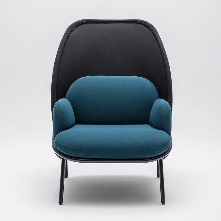 Mesh armchair Fabric: Atlantic, Runner Colour: A67043, R60025 Base colour:  M115