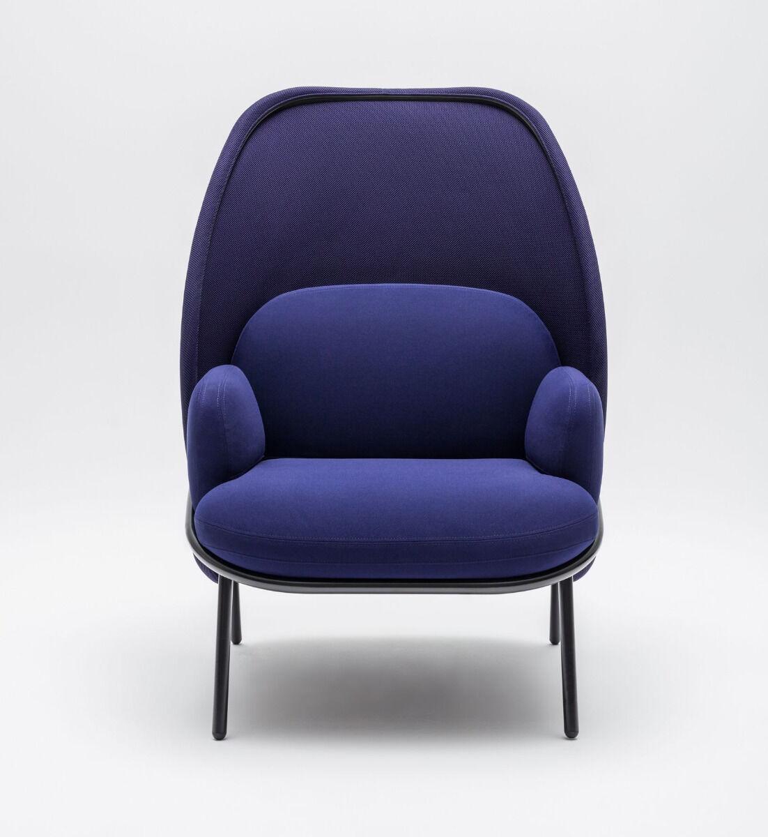 Mesh armchair Fabric: Atlantic, Runner Colour: A66064, R66064 Base colour:  M115