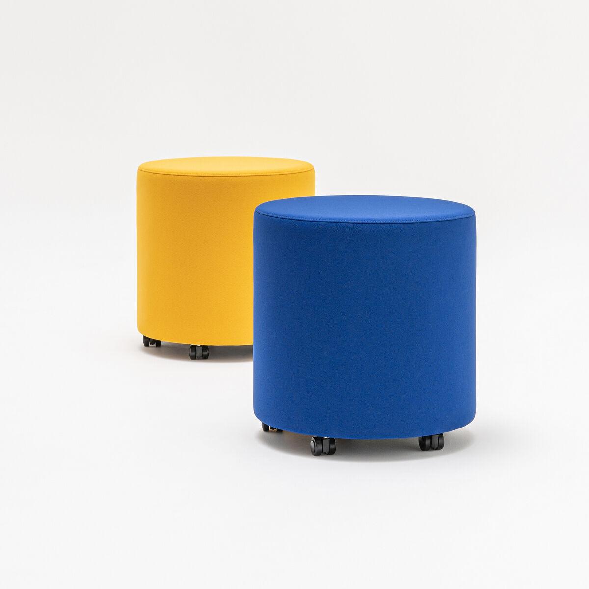 Mix pouf Fabric: Xtreme Colour: YS072, YS100