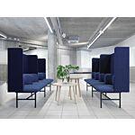 Agora sofa Fabric: Xtreme Colour: Xr026 Base colour: M115