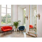 Grace sofa and armchair Fabric: Blazer, Atlantic Colour: Cuz39, A67043 Base colour:  M013