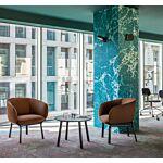 Grace armchair Fabric: Xtreme Colour: YS158 Base colour:  M115